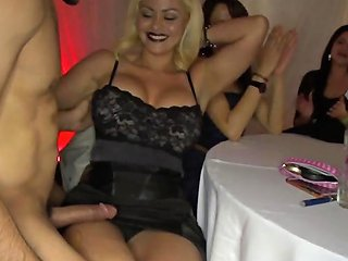My Girlfriend Drooling On Cock With Friends