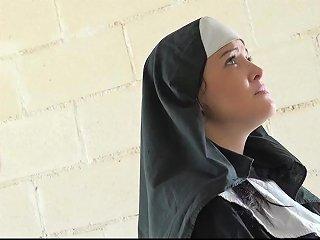 Big Dick Grandpa Shoves A Young Nun's Chastity Hd Porn 1e