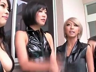 Cosplay PVC Catsuit And Leotard Japanese Beauties Hunt For Prey