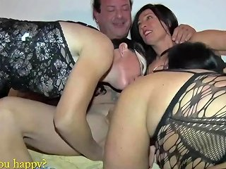 Real Amateur Orgy With Neighbor's Wife And Female Whores