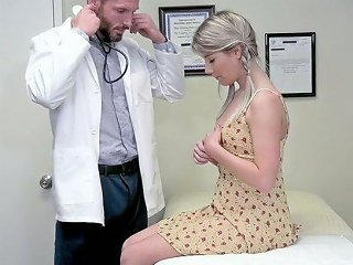 Cute Pale Patient Vienna Rose Is Analfucked By Her Aroused Doctor