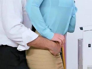Big Cock Boss Bangs Busty Co Worker Hdzog Free Xxx Hd High Quality Sex Tube