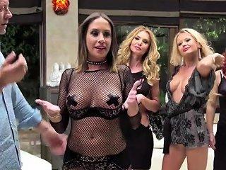 Fives Gorgeous Sluts Gets Banged Hard Nuvid