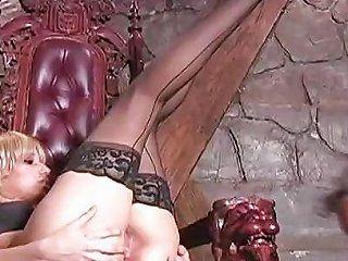 Blonde Dominatrix Face Sitting Free Femdom Porn Video 92