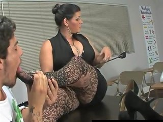 Cuban Teacher Angelina Castro Punish Roxanne To Do Foot