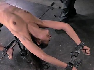 Chained Bdsm Sub Clamped And Toyed By Maledom Free Porn 94