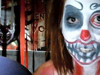 Shaye Rivers Scary Clown Masturbation Hd Porn Ca Xhamster