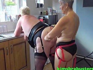 Granny Lesbians In The Kitchen Free Kimsbra Busters Hd Porn