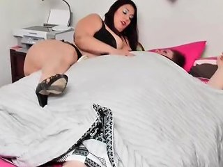 Captured And Fattened To Immobility Bbw Rikki Waters Ties Ssbbw Tiffany Cushinberry Amp Fattens Her