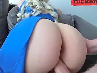 Cheating Wife Rides A Dick While Her Husband Is A Work