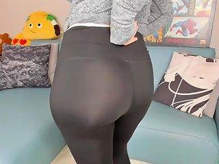Pawg Yoga Pants Asshole Joi
