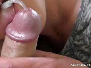 Rimming And Blowjob At Morning Cum In My Mouth In Slow Motion