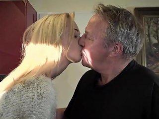 Young Old Porn Martha Gives Grandpa A Sloppy Blowjob Txxx Com
