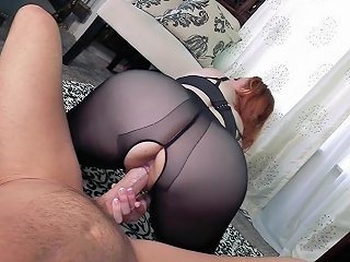 Premature Ejaculation With The Girl Of Your Dreams POV Pantyhose Femdom