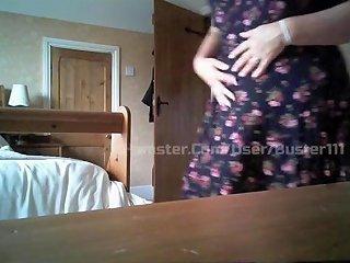 Busty Mature Wife On Hidden Cam 1