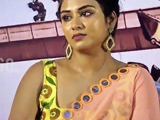Curvy Dusky Bitch Indhuja Ravichandran Moaning