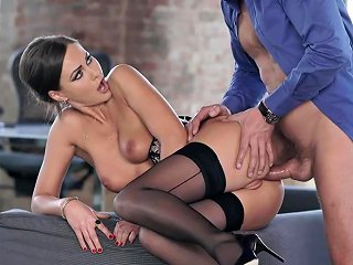 Tina Kay Hot Babe In Stockings Porn Video