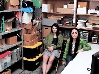 Teen Shoplifters In 3way Drtuber