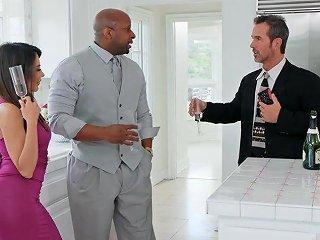 Skinny Milf Lela Star Cheats On Her Husband With Black Guy
