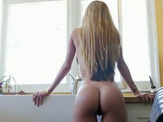 After Steamy Kitchen Fuck Latina Gf Kat Dior Gives Blowjob To Her Bf