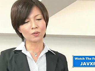 Asian Milf Fucked At The Office