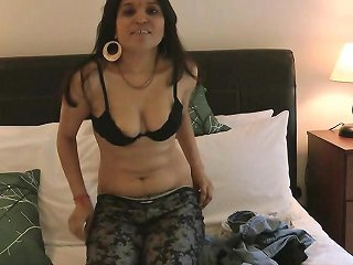 Warm Solo Along Young Indian Cutie