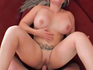 Sex In The Garage With A Chubby Blond Milf Betty