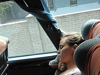 Ukrainian Girl With Perfect Tits In Bus