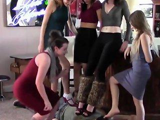 Five Girls Trampling Slave Txxx Com