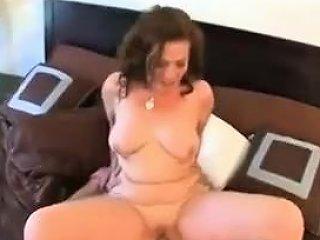 Blonde Bbw Pornstar Anna Kay Swallows Hard Cock Drtuber