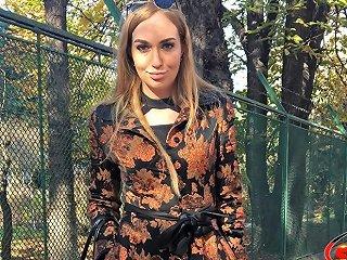 German Scout Fashion Teen Model Liza Talk To Anal For Cash