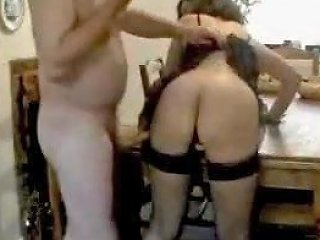 Great Uk Couple Homemade Sexy Dark Haired Housewife