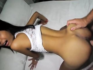 Tight 18yo Asian Pussy Hole Gets Probed And Creampied By Drtuber