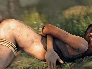 Lara Trapped And Fucked Xxx Tomb Raider
