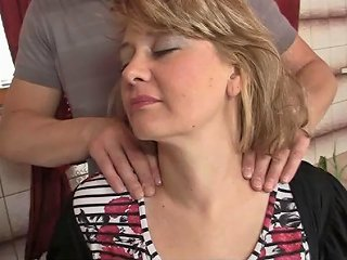 He Caught Fucking Her Busty Mature Mother