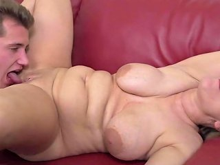 German Mature Mom Teresa Lynn Fucks Schoolboy Free Porn 25