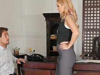 Young Guy Tries To Impress Super Sexy Female Boss Aaliyah Love