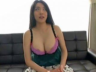 Miho Ichiki Busty Japanese Fake Tits Porn Videos