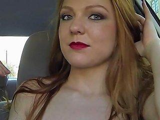 Dicksucking Hitchhiker Banged Doggystyle