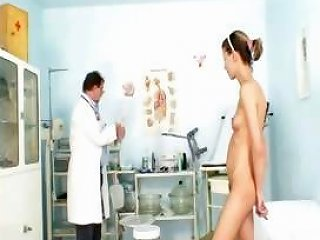 Petite Young Brunette Gets A Stretched Hairy Pussy At The Nuvid