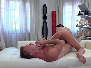 All Sweaty Nympho Alyssia Kent Gets Poked Doggy Hard Enough By Rocco
