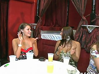 Cream Party With Strippers Blowjob Movie 1