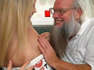 Santa Lookalike Grandpa Fucks A Hot Blonde Teen Babe Hdzog Free Xxx Hd High Quality Sex Tube