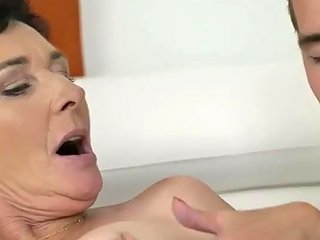 Granny Lover Finds A Time Worn Flabby Skank Pixie To Poke Hard