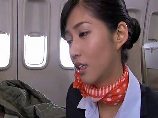 Amazing Japanese Stewardess Loves Getting Fucked By Passe Any Porn