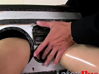 Latex Lucy In A Box At Latexpussycats Drtuber