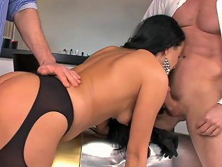 Glamcore Euro Beauty Sucks And Gets Assfucked Upornia Com