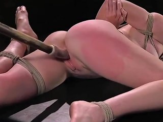Submissive Babe Tiedup And Dildoed In Pussy Txxx Com