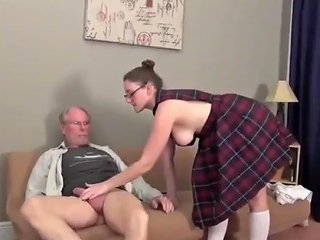 Old Man Fucks Young College Bitch On Vacation