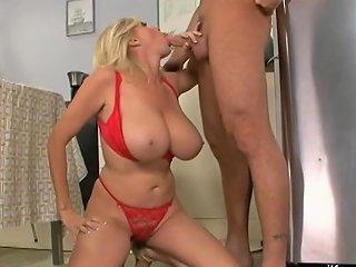 Busty Blonde Mom Fucking Her Sons Best Friend